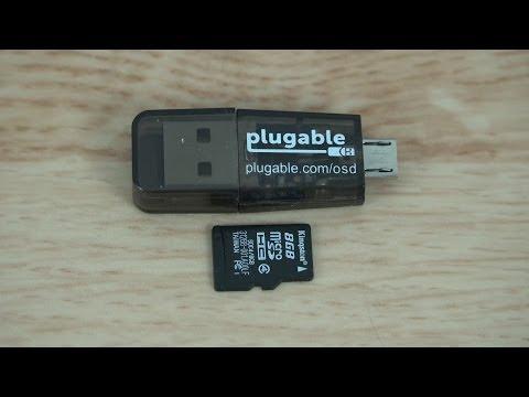 Micro sd memory card reader