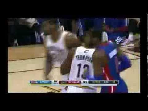 NBA CIRCLE - Detroit Pistons Vs Cleveland Cavaliers Highlights 23 Dec. 2013 www.nbacircle.com