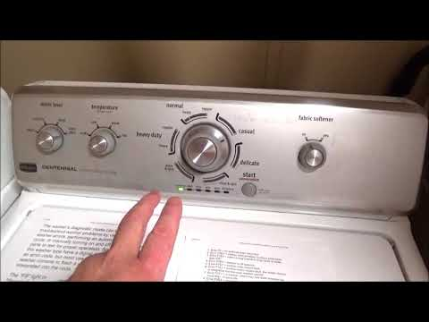 HOW TO DIAGNOSE AND PULL TROUBLE CODES FROM YOUR WASHING MACHINE