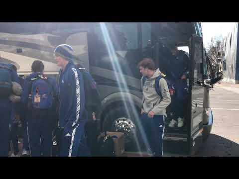 Jayhawks arrive in Salt Lake City for 2019 NCAA Tournament