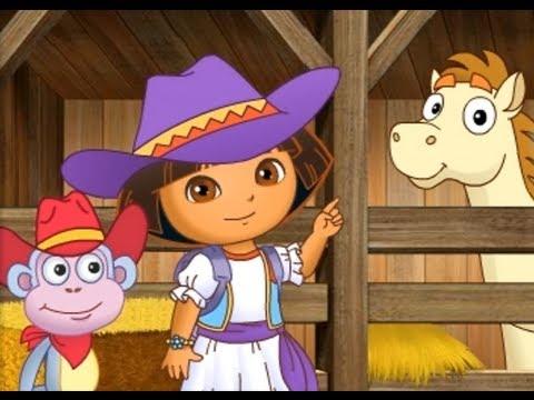 Dora Explorer The Movie Pony Games Dora Youtube