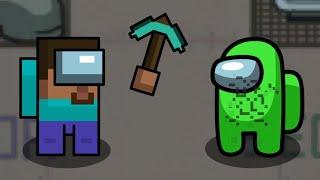 Stevepostor mines a Crewmate