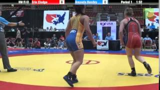 63 KG - Erin Clodgo vs. Amanda Hendey