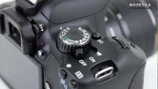 Фотоаппарат Canon EOS 650D(Видеообзор фотоаппарата Canon EOS 650D: http://rozetka.com.ua/canon_eos_650d_18_55mm_kit_of/p234806/ ..., 2013-01-09T14:45:09.000Z)