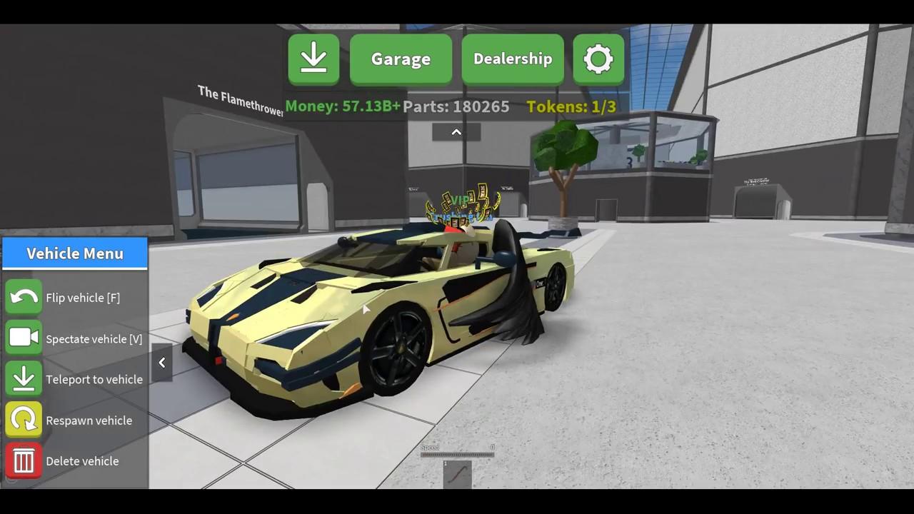 Koenigsegg One 1 >> Car Crushers 2 / BUYING THE Koenigsegg One:1! / Roblox / (#11) - YouTube