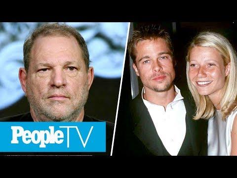Brad Pitt Threatened Harvey Weinstein After He Allegedly Harassed Gwyneth Paltrow   PeopleTV