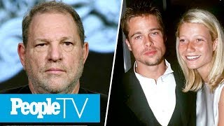 Brad Pitt Threatened Harvey Weinstein After He Allegedly Harassed Gwyneth Paltrow | PeopleTV
