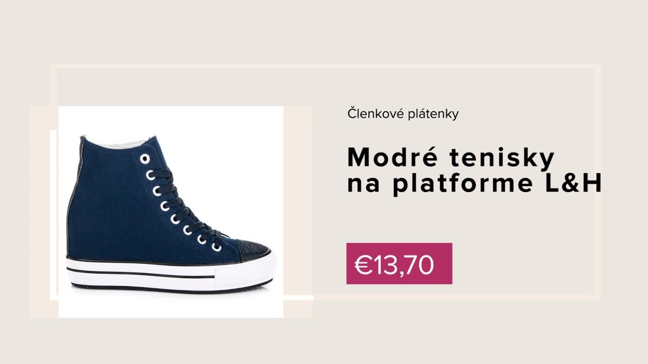 b95336373a21 NAJ.SK - Nová jarná kolekcia obuvi 2018 - YouTube