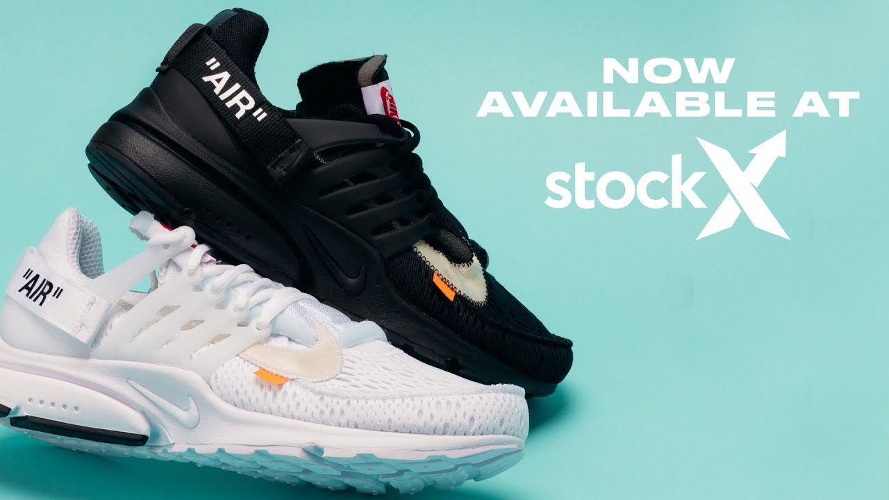 5db32b5b StockX has Off-White Prestos Available in All Sizes - YouTube
