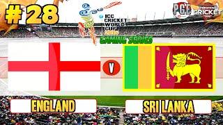 ICC Cricket World Cup 2015 (Gaming Series) - Pool B Match 28 England v Sri Lanka