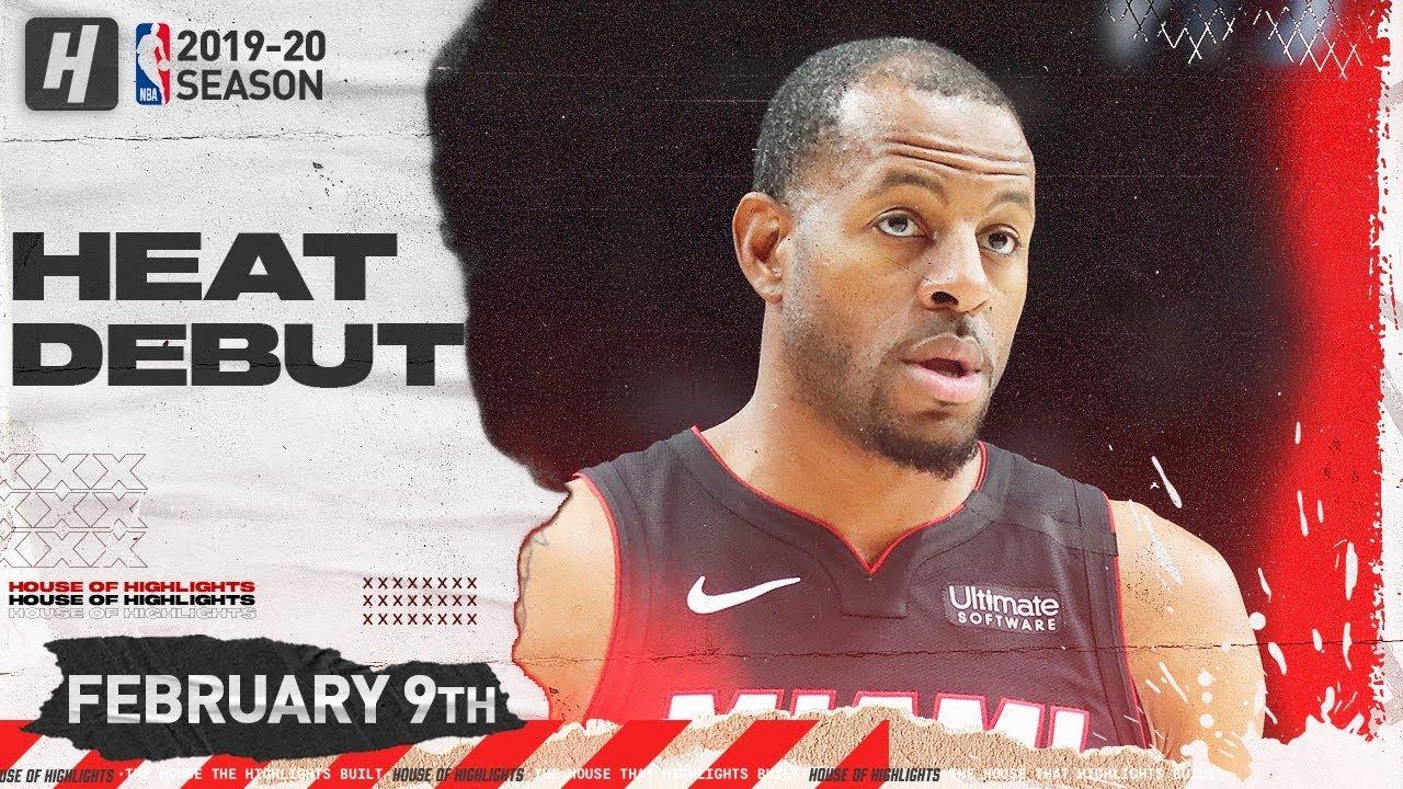 Portland Trail Blazers Beat Miami Heat in Andre Iguodala's Debut