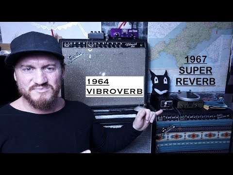 1967 Super Reverb VS a 1964 Vibroverb. [ Is this the holy grail tone ? ]