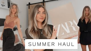SUMMER TRY ON HAUL 2020 - ZARA, H&M & ASOS | Fashion Influx