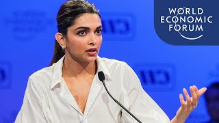 Deepika Padukone Addresses the Stigma of Mental Health Issues | India Economic Summit 2017