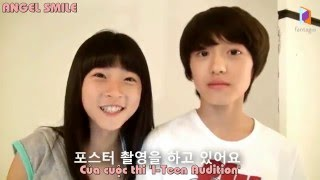 "Video [ANGEL SMILE] [VIETSUB] Chanhee làm đại sứ cho ""i-Teen Audition"" năm 2012 download MP3, 3GP, MP4, WEBM, AVI, FLV November 2017"