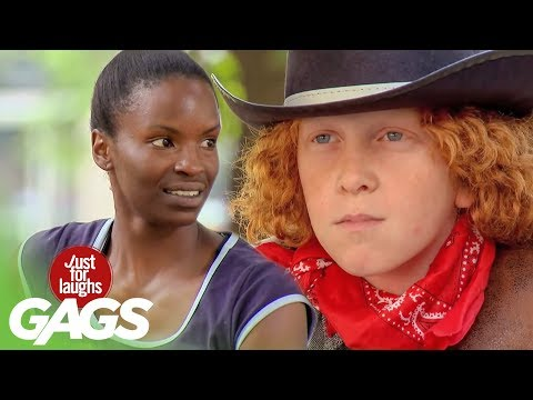 Cop VS Cowboy Prank