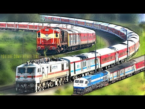 End of an Era | Diesel - Electric | Bangalore RAJDHANI Express | Indian Railways