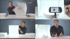 Easy Product Photography 360 Animations with Foldio Studio Foldio 360 Smart Turntable