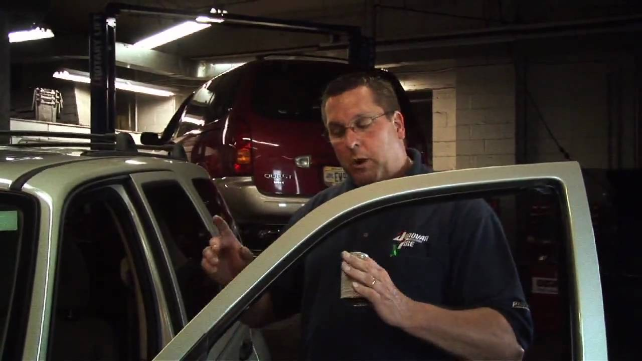 How To Clean Your Headlights >> Lubing You Window Channels - YouTube
