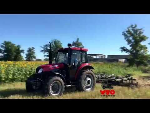 YTO LX 954 (105 hp) + БДВП 3,2 м