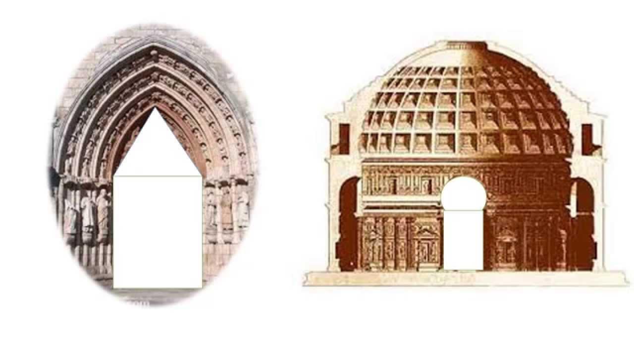 diferencias entre arquitectura gotica y románica