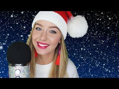 ASMR Christmas Singing Softly Ear to Ear