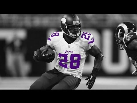 "Adrian Peterson Vikings Highlights ""Conscience"""