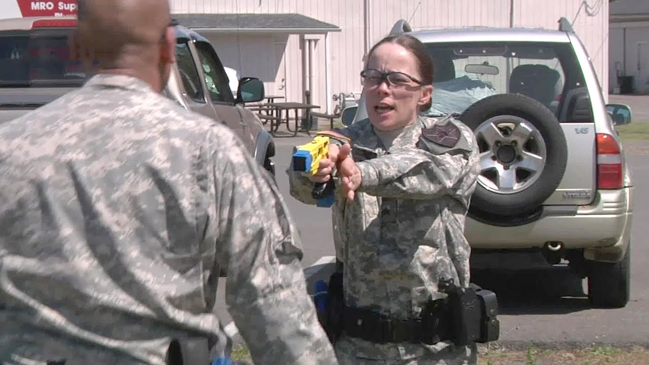 Army Of Us: Army Military Police Taser Training