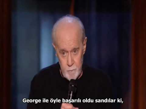 George Carlin Tanrı Amerikayı Kutsasın Türkçe Altyazılı Youtube