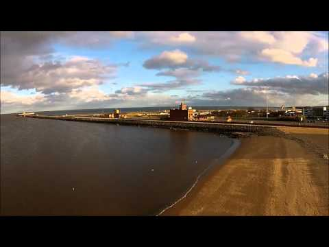 Little Haven Beach at South Shields Tyne and Wear England.