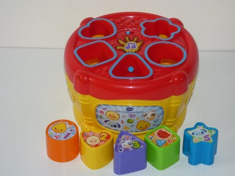 VTech Baby Sort and Discover Drum toy review video