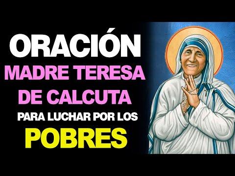 🙏 Oración a la Madre Teresa de Calcuta PARA LUCHAR POR LOS POBRES 🤕