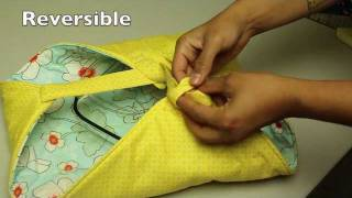 How to Make a Casserole or Pie dish Carrier(In this week's video tutorial I teach you step-by-step how to make a quilted casserole carrier. These carriers make the perfect functional gift to give as a hostess ..., 2011-12-19T20:58:28.000Z)