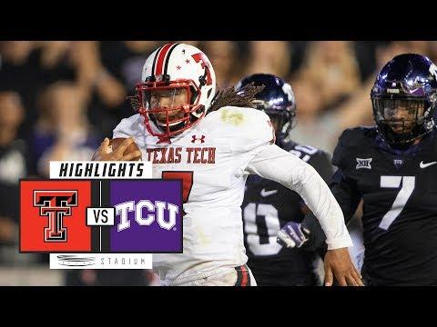 Texas Tech vs. TCU Football Highlights (2018) | Stadium