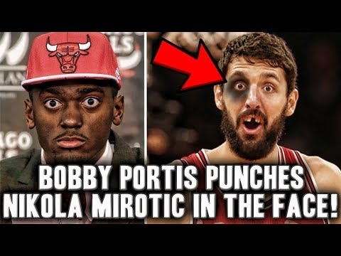 Bobby Portis Punched Nikola Mirotic In The Face | What Does This Mean For The Chicago Bulls?