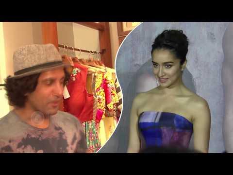 Shraddha Kapoor - Farhan Akhtar HOT PDA In Mumbai Nightclub!