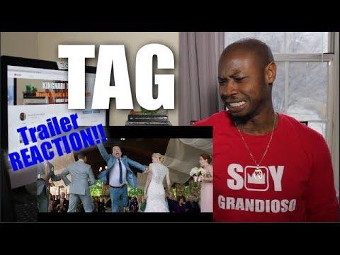 TAG  REACTION     Jeremy Renner Jon Hamm Ed Helms  Comedy