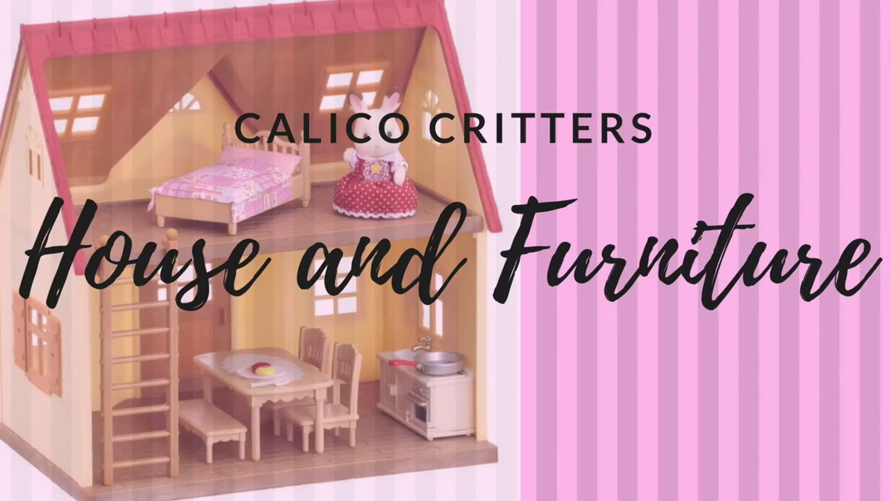 Calico Critters House And Furniture