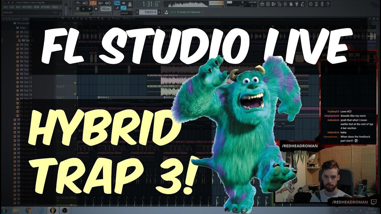 how to make edm trap fl studio