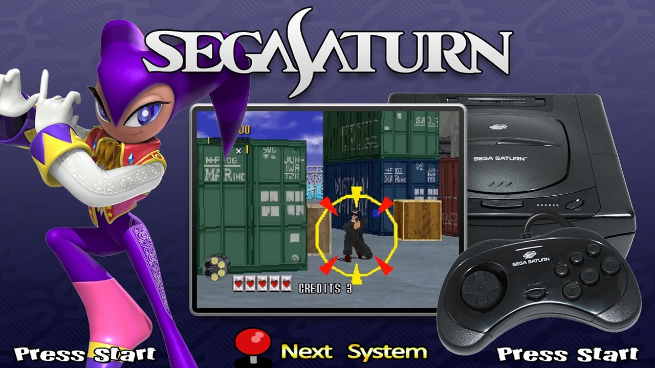 All Sega Saturn Games A To Z Hyperspin Youtube