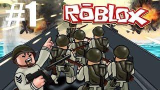 Ik Ben Weer Dood! || Roblox WWII #1