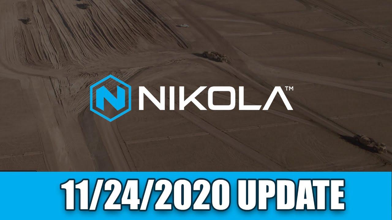 Nikola Semi Factory Construction Site Update - November  24, 2020