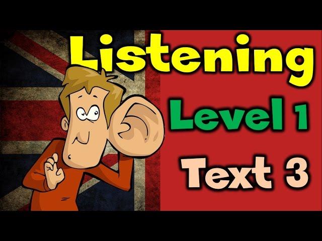 3. Аудирование / Listening: LEVEL 1 / TEXT 3 / УРОВЕНЬ 1 / ТЕКСТ 3 (Max Heart)