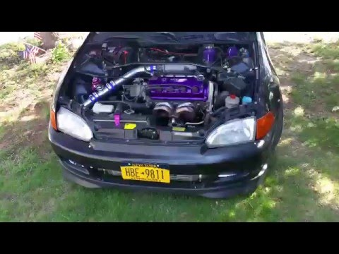 Turboed 95 EG EX CIVIC FOR SALE