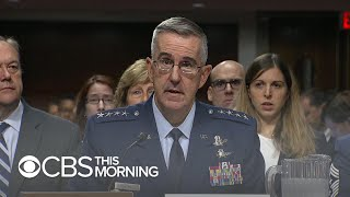 Trump's pick for Joint Chiefs vice chair faces questions over assault allegations