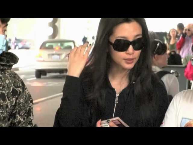 ??? Li Bingbing at LAX
