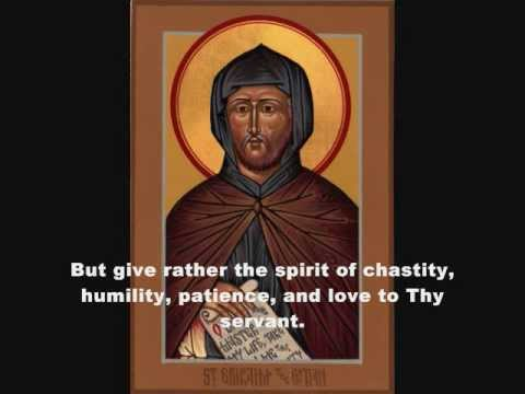 Lenten Prayer of Saint Ephrem, Orthodox Church in America