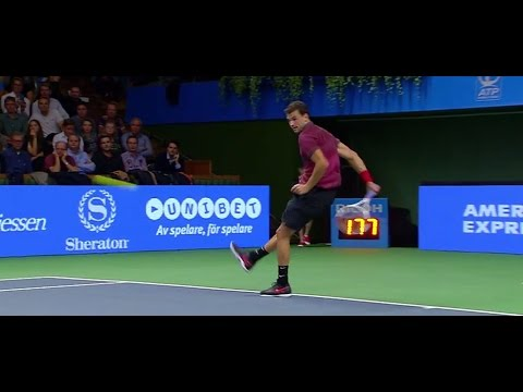 Dimitrov Hits Stunning Hot Shots In Stockholm