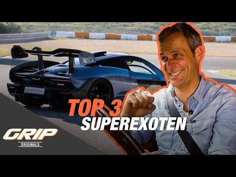 TOP 3 Superexoten - Dallara Stradale, New Stratos, David Brown Speedback GT I GRIP Originals