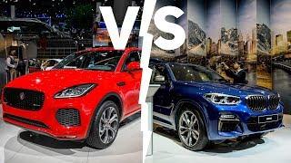 BMW X3 vs. Jaguar E-Pace | Lunghezze diverse, ma quanta tecnologia!
